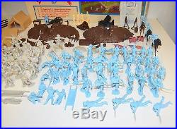 Vintage 1970s Marx Heritage Battle of the Blue & Gray Civil War Playset NR