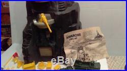 Vintage 1975 Marx Navarone Mountain Battleground Play Set #3412 Boxed 97% Comp