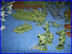 Vintage 1978 World War II Battleground Play Set by Marx