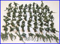 Vintage 1980 Navarone Mountain Giant Play Set Marx Toys 122 Army Men with Box