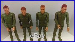 Vintage 60's Marx Stoney 4-Man Combat Team MIB (Sealed Contents) Beautiful L@@K