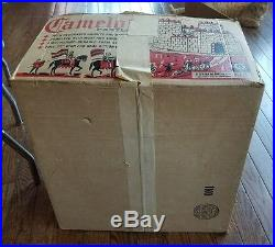 Vintage Camelot Caslte Marx Knights Box Gotham Ind. Styrene Playset