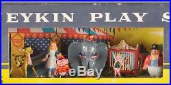 Vintage Disneykin Play Set Marx Dumbo Snow White Pinocchio 1960s Disney