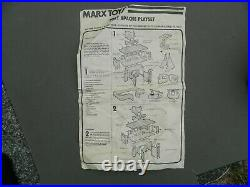 Vintage Fort Apache Marx Play set in Box #59841 Complete Sears
