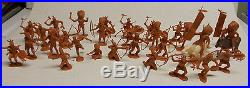 Vintage GEN GEORGE CUSTER FORT APACHE carry all PLAYSET marx 1960's