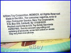 Vintage Kenner's Sky Rail System / Marx Sears Auto Service Center Toys / NOS