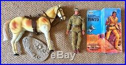 Vintage Lone Ranger action figure Tonto Butch Cavendish Gabriel Marx