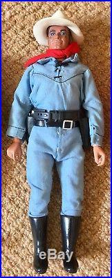 Vintage Lone Ranger action figures Tonto Dodge City Danny Reid Gabriel Marx