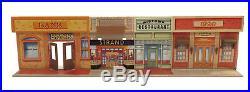 Vintage Louis Marx The Untouchables Tin Litho Metal Street Front Playset 1960s