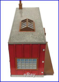 Vintage Louis Marx The Untouchables Tin Litho West Side Warehouse Playset 1960s