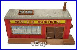 Vintage Louis Marx The Untouchables Tin Litho West Side Warehouse Playset 1960s