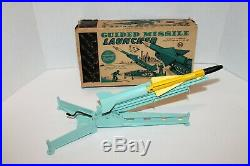 Vintage MARX 12 long Guided Missile Launcher complete in original box
