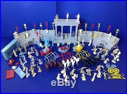Vintage MARX 1959 Ben Hur Play Set #4702 Figures Roman Gladiator Toys Coliseum
