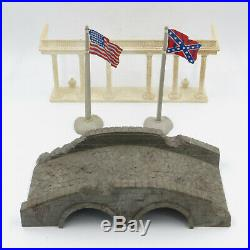 Vintage MARX Battle of the Blue and Gray 4759 Series 3000 PlaySet Civil War &Box