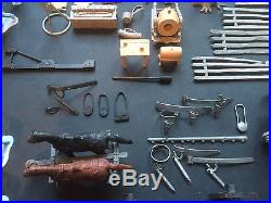 Vintage MARX Blue and Gray Civil War Battle Playset Huge Lot 190+ Pc Mid Century