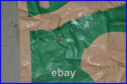 Vintage MARX D-DAY Invasion Playset Mat 1963 WW2 Toys Rare HTF