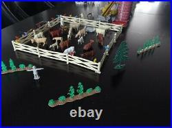 Vintage MARX FARM set + accessories Serie 2000 DeLuxe HAPPi TIME Complete