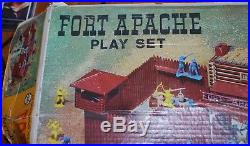 Vintage MARX Fort Apache Playset 3681 With Box