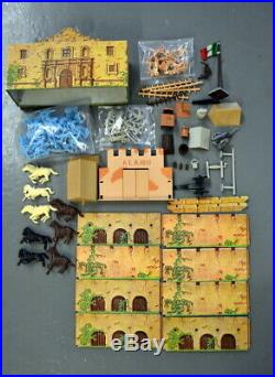 Vintage MARX Sears Heritage BATTLE OF THE ALAMO Playset with BOX EXCELLENT