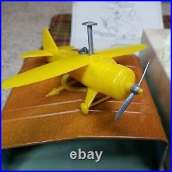 Vintage Marx 0796 Crop duster plane set. NOS MIB
