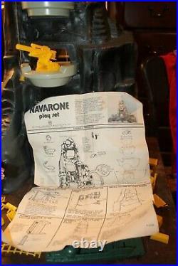 Vintage Marx 1970's Guns of Navarone Playset Near Complete