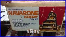 Vintage Marx 1977 Navarone Giant Playset Beautiful Super Clean! L@@K