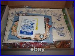 Vintage Marx 1991 The Flintstones Collector Set New In Box # 4673