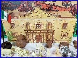 Vintage Marx 3544 Walt Disney Davy Crockett At The Alamo Play Set In Box