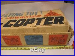 Vintage Marx A Copter Air Force A Real Flying Toy WORKS With Box Model S-55 RARE