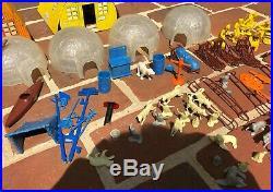 Vintage Marx Arctic Explorer Play Set #3702 Series 2000 With Box Many Pieces