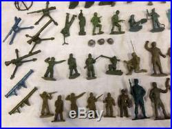 Vintage Marx Armed Forces Training Center Series 500 play set Military Figures