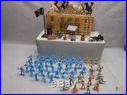 Vintage Marx Battle Of The Alamo Sears Heritage Playset With Box