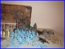 Vintage Marx Battle of the Blue and Gray playset withbox series 3000 #4759