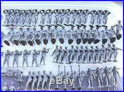 Vintage Marx Battleground Iwo Jima 550 Army Soldiers + Huge Lot Of Accessories