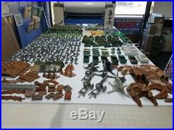 Vintage Marx Battleground Iwo Jima Desert Fox Playset Huge Wwii Lot Authentic 2