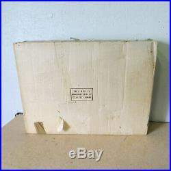 Vintage Marx Battleground Playset 4752 WW2 WWII Toy Set withBox
