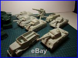 Vintage Marx Battleground/Tank Battle Vehicle and Artillery Set