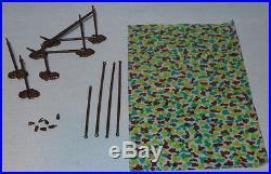 Vintage Marx Battleground or Desert Fox Playset Camouflage Artillery Gun Cover