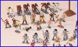 Vintage Marx Border Battle Miniature Play Set Alamo