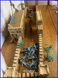 Vintage Marx Captain Gallant Playset 1953 Tin Litho French Foreign Legion Fort