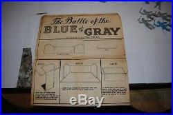 Vintage Marx Civil War Blue-Grey Giant Set With Box Look