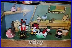 Vintage Marx Disneykins Pinocchio playset toys miniatures unused Disney RARE