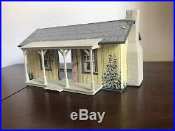 Vintage Marx Downsized Tin Cabin for Rifleman Play Set