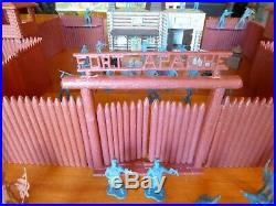 Vintage Marx Fort Apache Heritage Playset Sears with Box Near Complete
