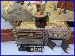 Vintage Marx Fort Apache Playset No. 3681 With Box