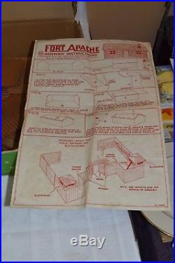 Vintage Marx Fort Apache Playset with Box