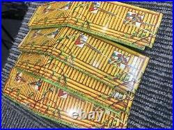 Vintage Marx Fort Apache Stockade Tin Litho Series 1000 Set With Original Box