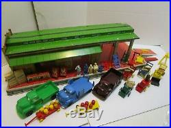Vintage Marx Freight Trucking Terminal Play Set Wow