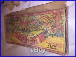 Vintage Marx Giant Blue & Gray Battle Set 1961
