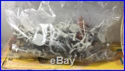 Vintage Marx Giant Blue & Gray Battle Set with Original Box Mostly Complete Mint